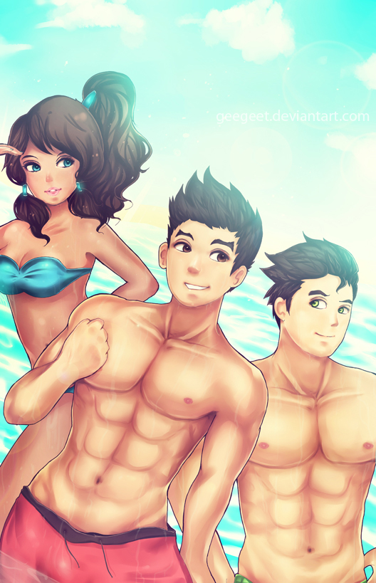Legend of Korra :Hit the Beach by Geegeet