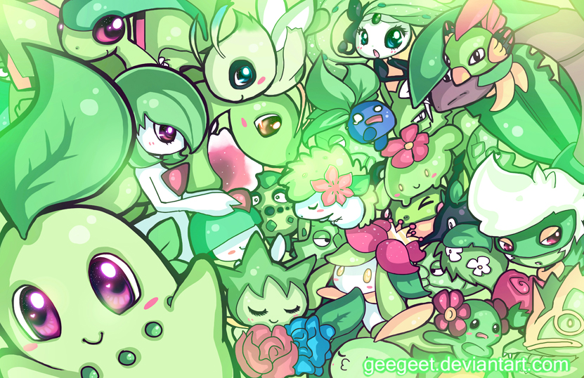 Green Party by Geegeet
