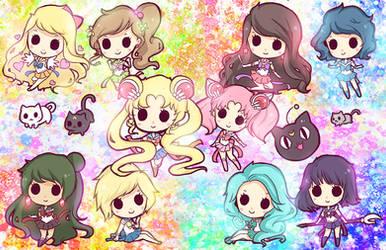 Sailor Chibi Dolls
