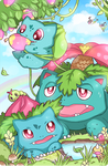 Pokefamily Vacation : Bulbasaur