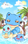 Pokefamily Vacation : Squirtle