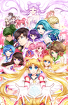 Sailor Stars by DarienDoodles