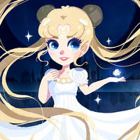 Princess Serenity by DarienDoodles