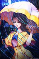 April Showers by DarienDoodles