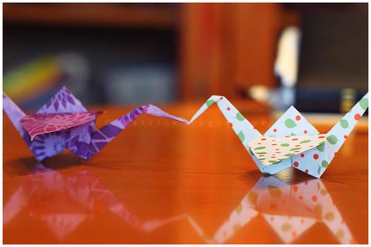Papercrane love