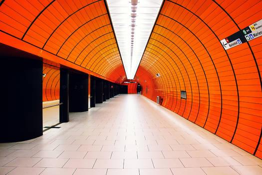 colorful metro