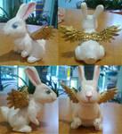 Rabbit Sculpture by sleepyotter