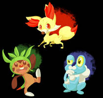 POKEMON X and Y by sleepyotter