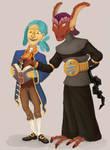 Kyne and Rhyan