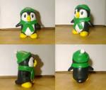 Penguin Sculpture by sleepyotter