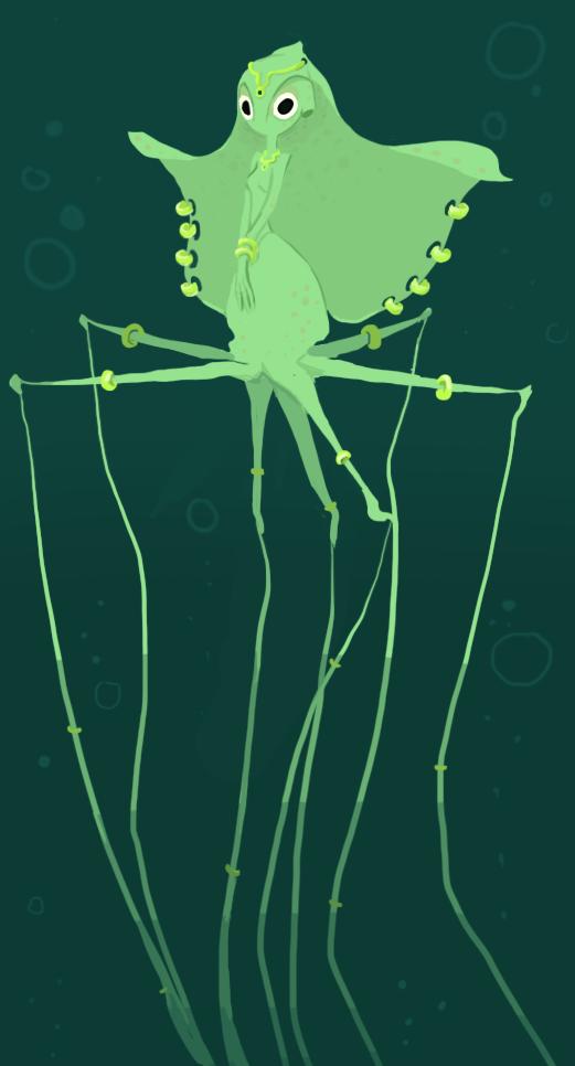 Deepsea Mermaid by sleepyotter