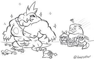 EXP hog