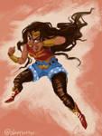 Wonder Woman by sleepyotter