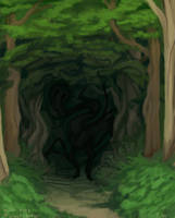 Twisted Forest by sleepyotter