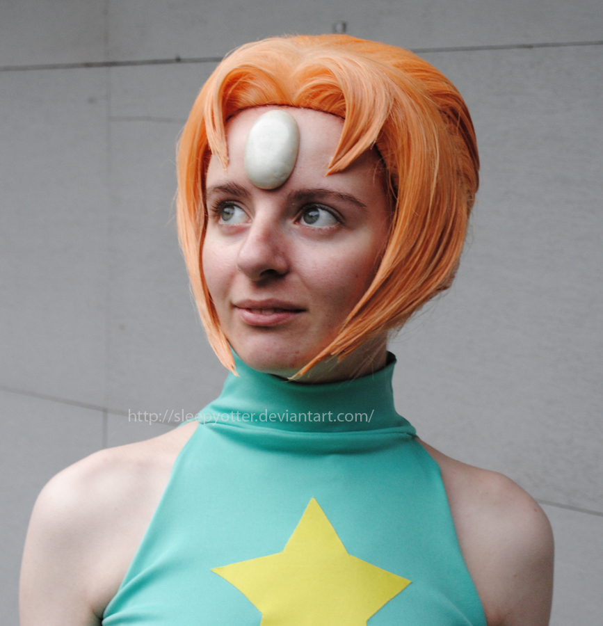 Steven universe pearl close up by sleepyotter on deviantart for Pearl arts and crafts closing