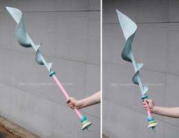 Steven Universe Pearl - Spear by sleepyotter