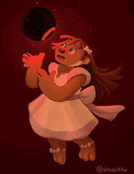 Alanna and the Orb by sleepyotter