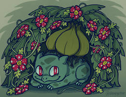 Bulbasaur by sleepyotter