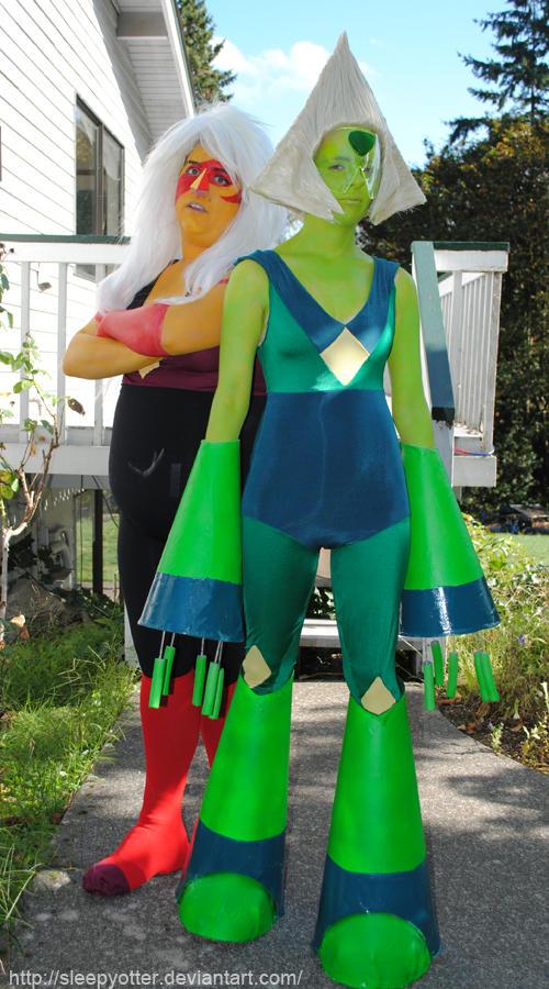 Steven Universe - Peridot and Jasper 2015