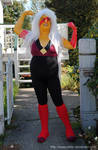 Steven Universe - Big Buff Cheeto Puff Cosplay by sleepyotter