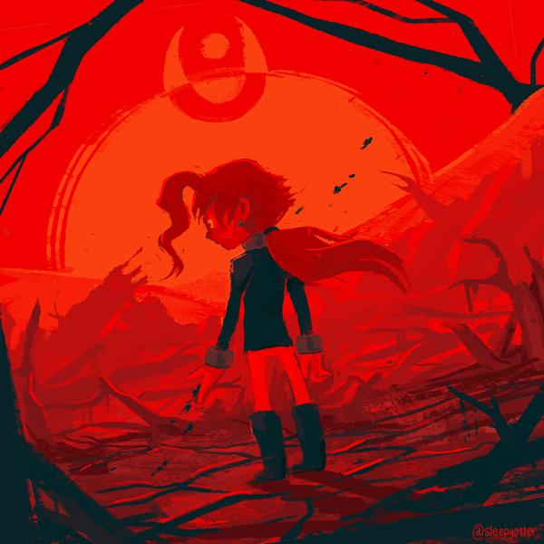 The Desert by sleepyotter