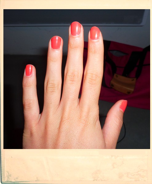orange manicure by never no more d2yhfty yellow manicure orange manicure nail art nail manicure