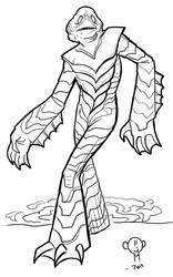 The Gill Man by DoctorRocket