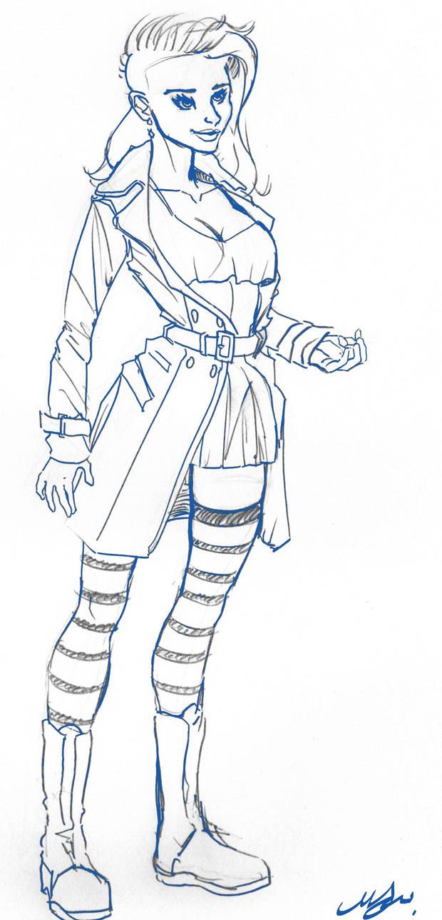 Kassie Hobbes Sketch