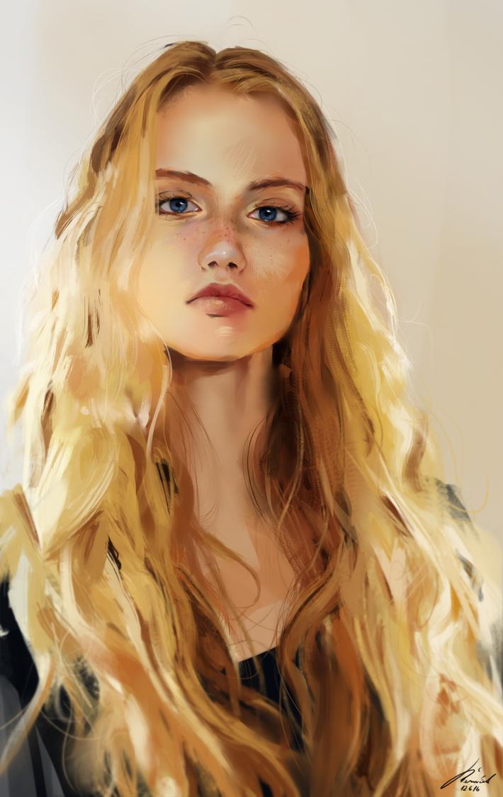 Portrait practice 28 by MichalReznicek