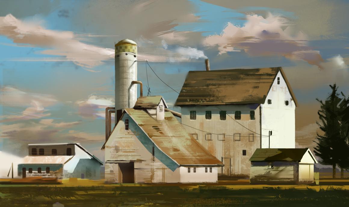 Barns by MichalReznicek