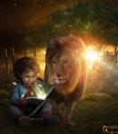 My dear friend lion