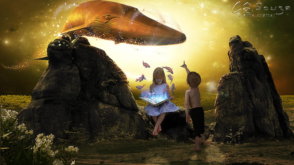 The tale of the golden whale by genivaldosouza