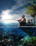 Fishing quiet