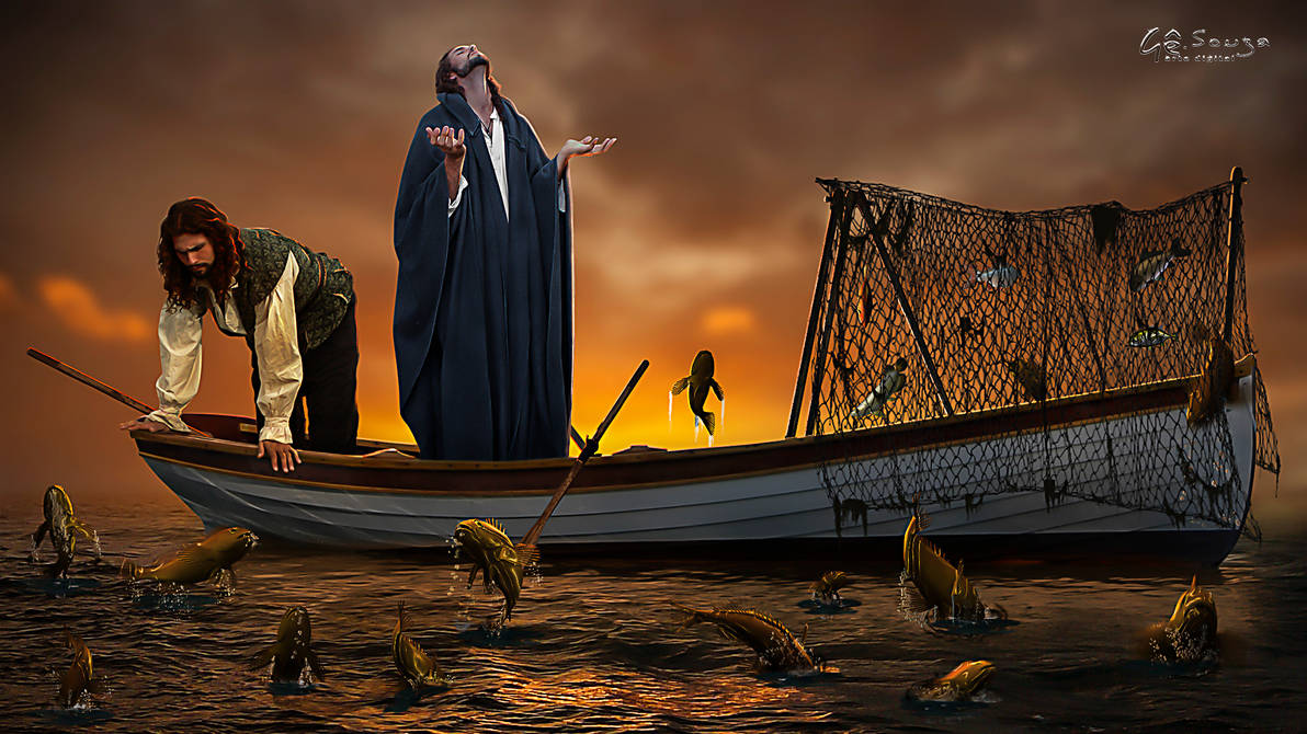 The miracle of fishing by genivaldosouza