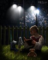 The little storyteller by genivaldosouza