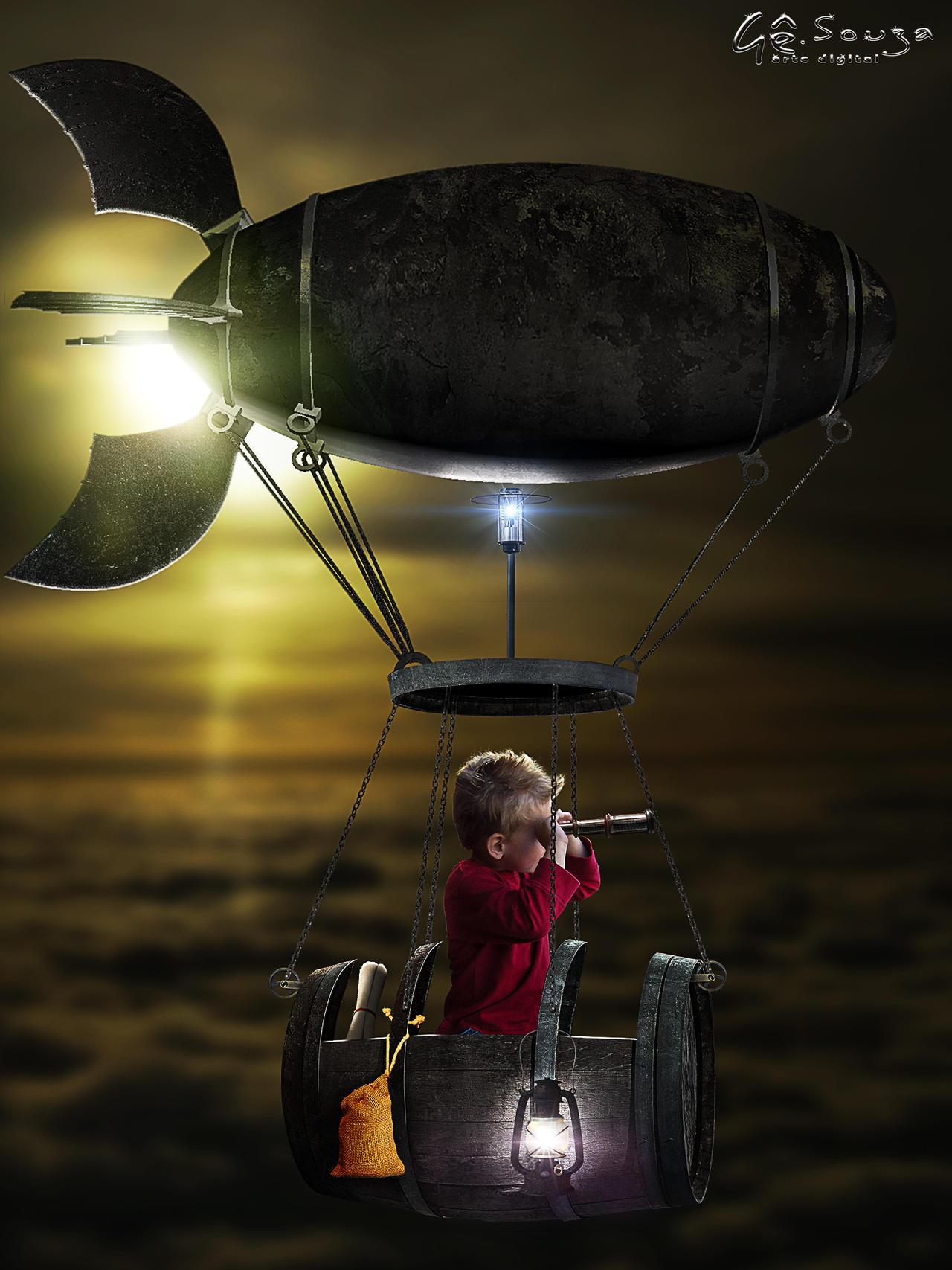 Flying aimlessly by genivaldosouza