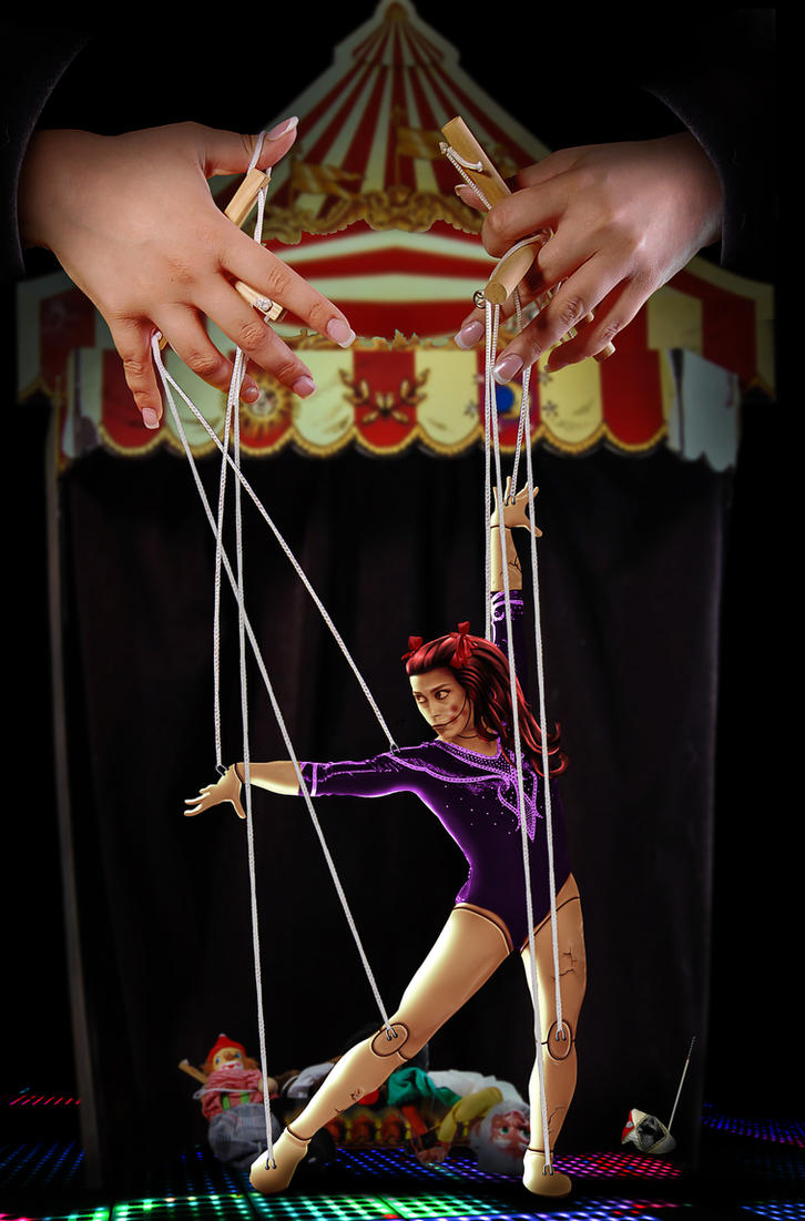 Little puppet theater by genivaldosouza