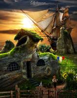 The lost island by genivaldosouza