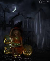 Little witch apprentice by genivaldosouza