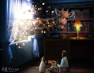 About childhood dreams II by genivaldosouza