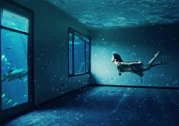 Underwater Apartment by shaiyakat