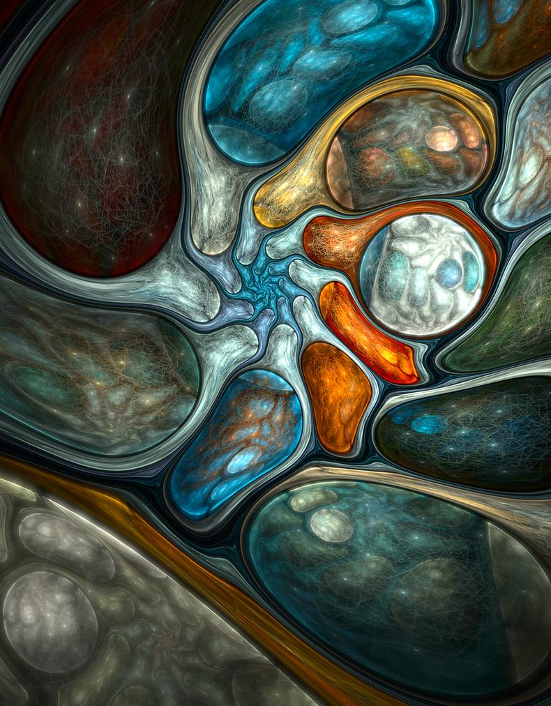 Cracked moonstones by SallySlips