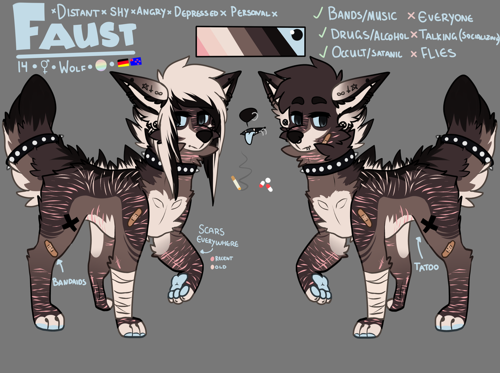 U Uuauuu 2017 >> Faust feral reff WIP by Expired-Smile on DeviantArt