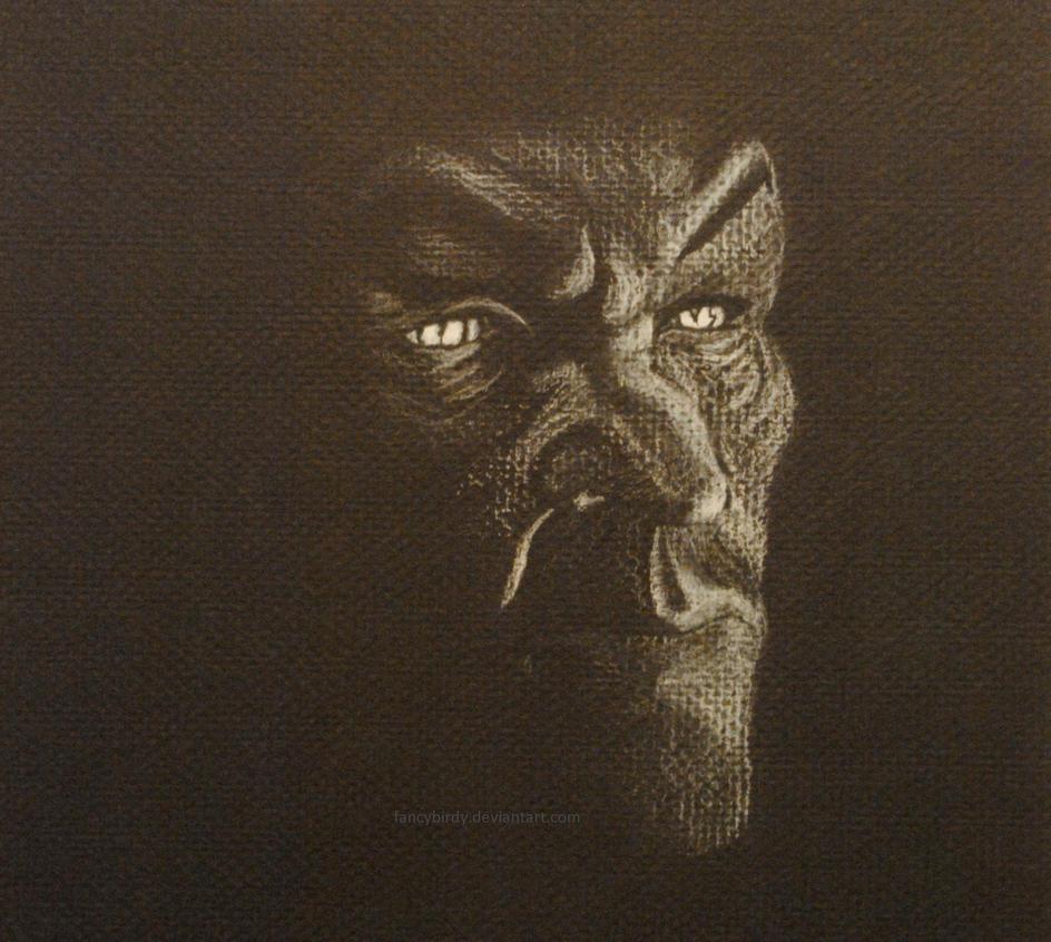 Ralis Sedarys, vampire in the dark by fancybirdy