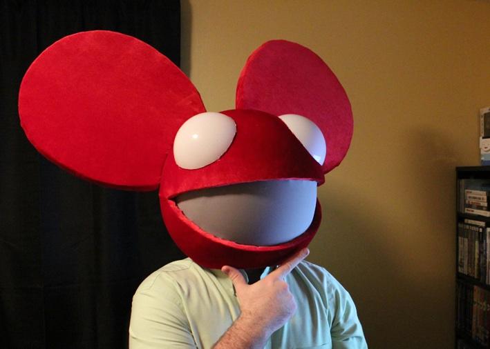 deadmau5 red suit - photo #15