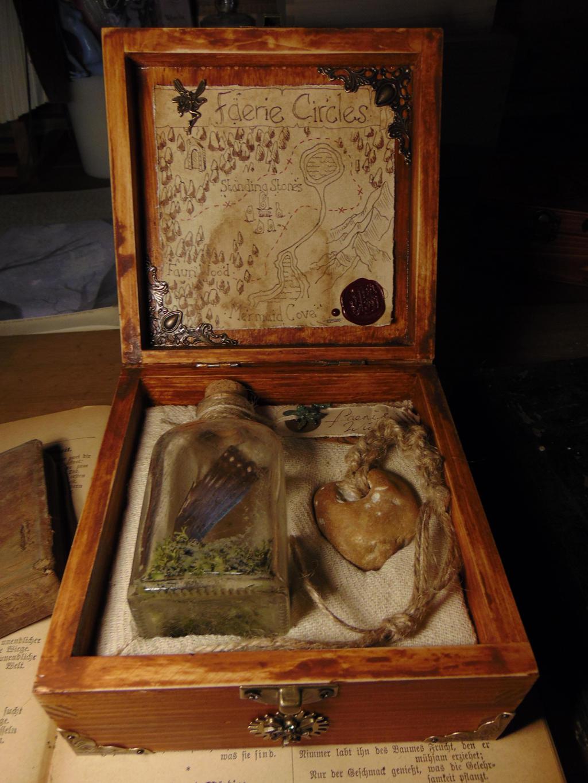 Faerie Curio Box HANDMADE by BurnedRavenTales