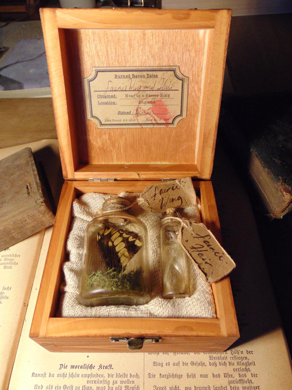 Small Faerie Curio Box by BurnedRavenTales