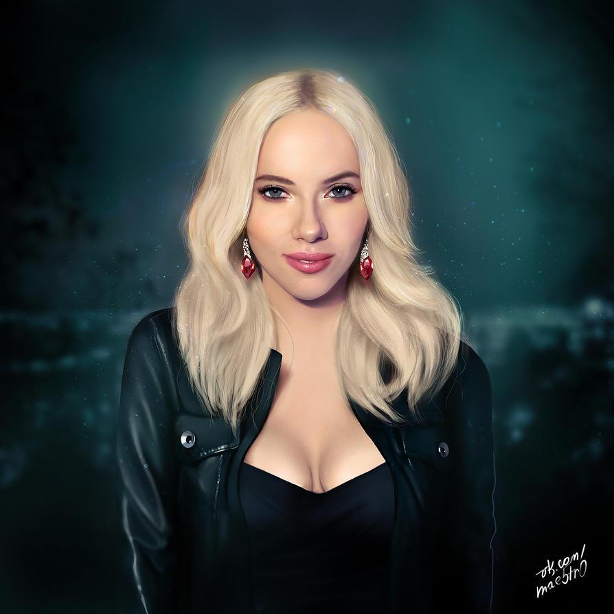 Scarlett Johansson by MAE5TR0