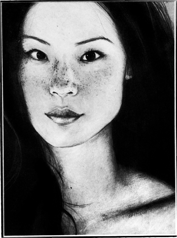 Lucy Liu by Rachael-Lee