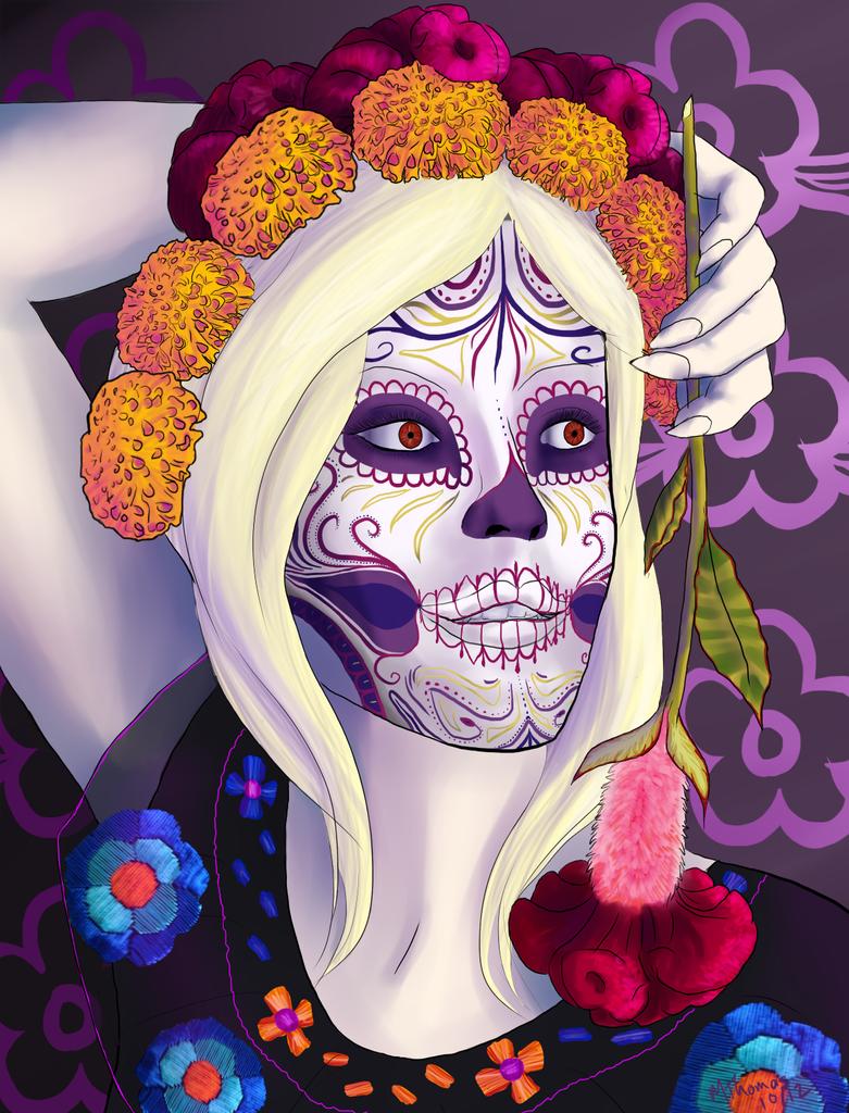 Dia de los Muertos by miro-kaisou